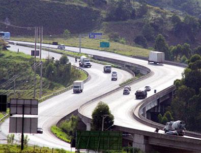 Rodovia de acesso à cidade de Mogi das Cruzes.