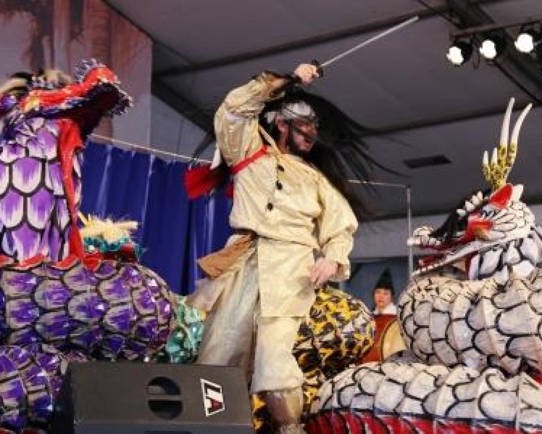 Img: Akimatsuri recebe espetáculo inédito do Kagura do Brasil  neste domingo (08/04)