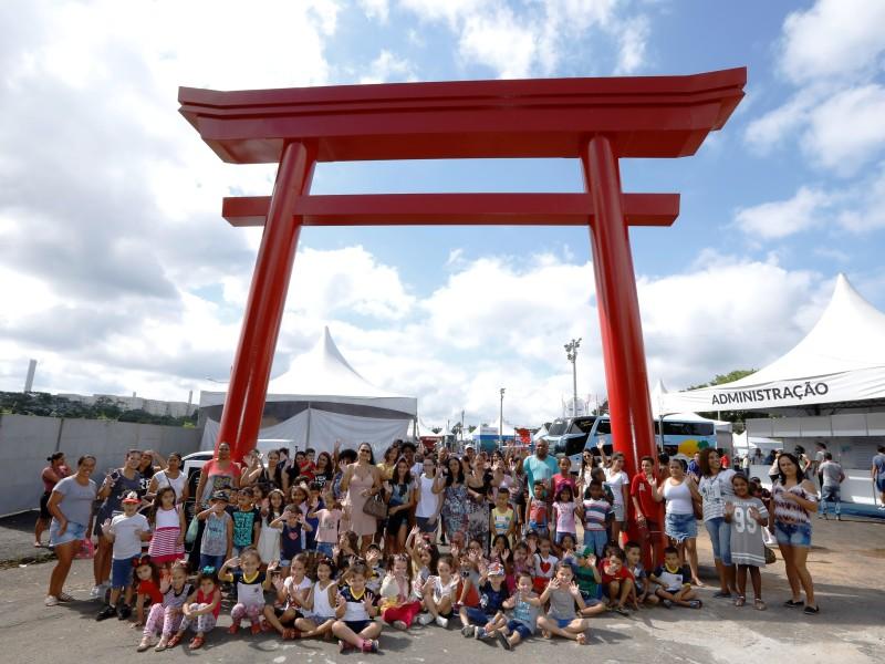 Img: Akimatsuri recebe 300 crianças carentes de Mogi das Cruzes