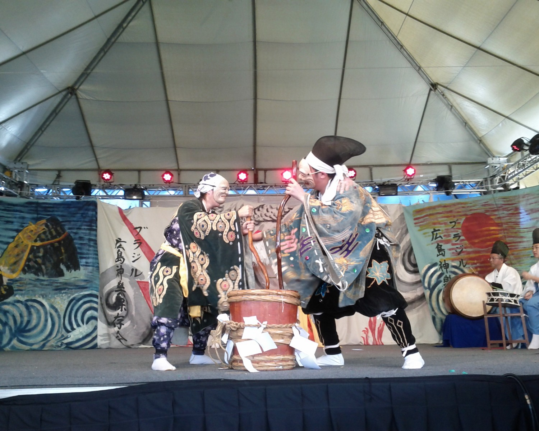 Img: Kagura do Brasil apresenta peça de teatro japonês no Akimatsuri