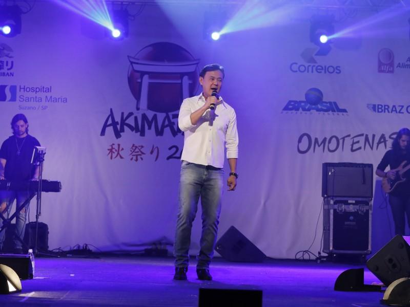 Img: Joe Hirata, concurso Miss e Mister Akimatsuri Jr são algumas das atrações deste sábado